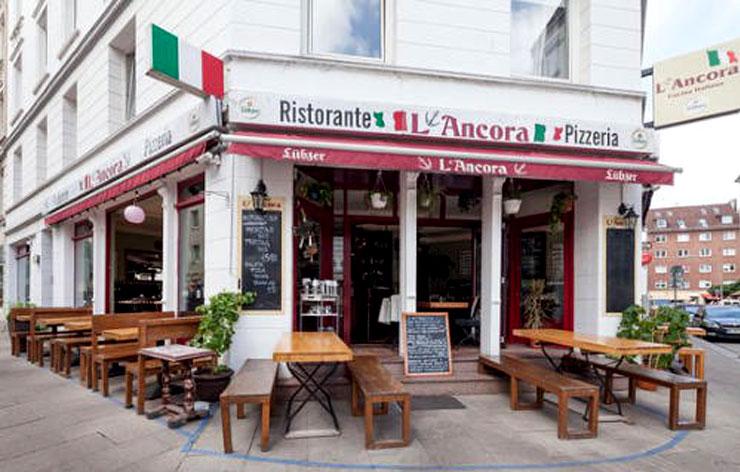 Lancora Restaurant & Pizzeria Hamburg - Galerie